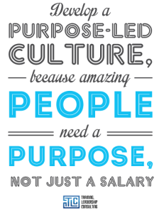Purpose-led transformation strategy